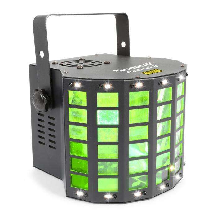Radical 2 3in1-Effekt 4x 3W RGBW LEDs Laser Rot/Grün 4 DMX-Kanäle jetztbilligerkaufen