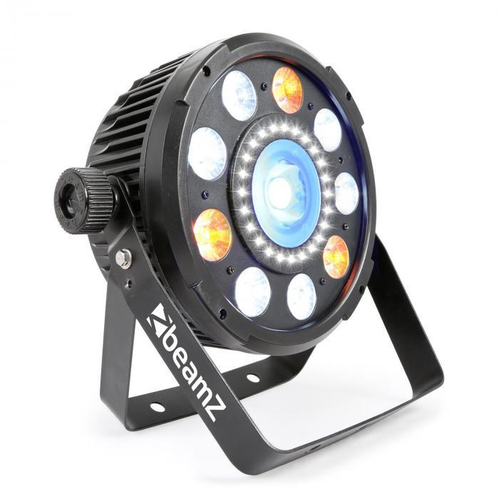 BX94 PAR 9x6W 4in1 RGBW LEDs Strobe-Einheit mit 24 SMD-LEDs Fernbedienung jetztbilligerkaufen