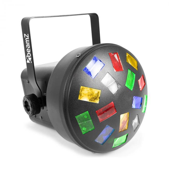 LED Mini Mushroom 6x 3W RGBWA LEDs Musik- und A...