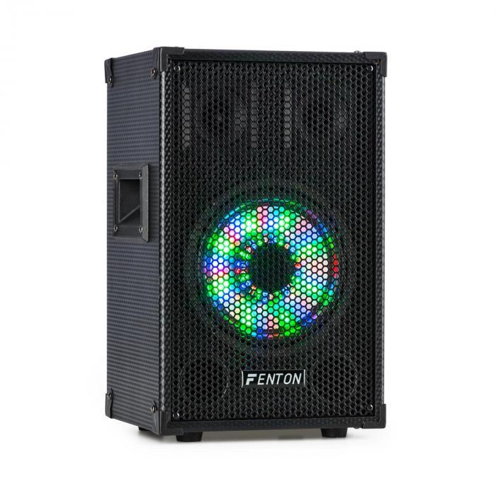 """TL8LED 3-Wege-Passiv-Lautsprecher RGB-LED 8"""" Woofer 400 W 2x Tweeter jetztbilligerkaufen"""