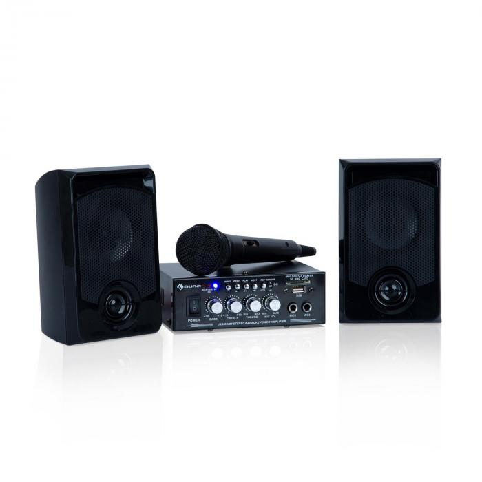 Karaoke Star 1 Karaoke-Set, 2 x 50 W max., BT, USB/SD, Line-In