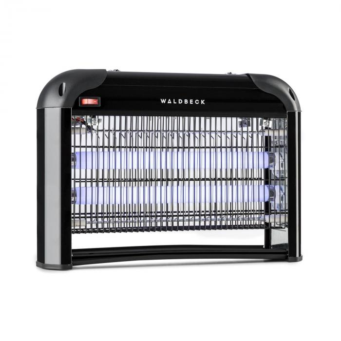 Waldbeck Mosquito Ex 4000 Lampa owadobójcza 30 W światło UV 100 m² kolor czarny