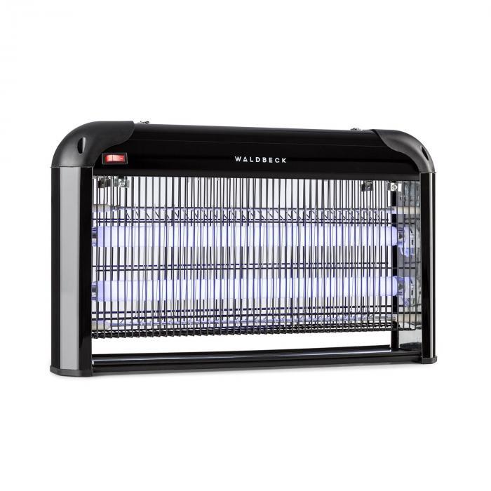 Waldbeck Mosquito Ex 5000 Lampa owadobójcza 38 W światło UV 150 m² kolor czarny