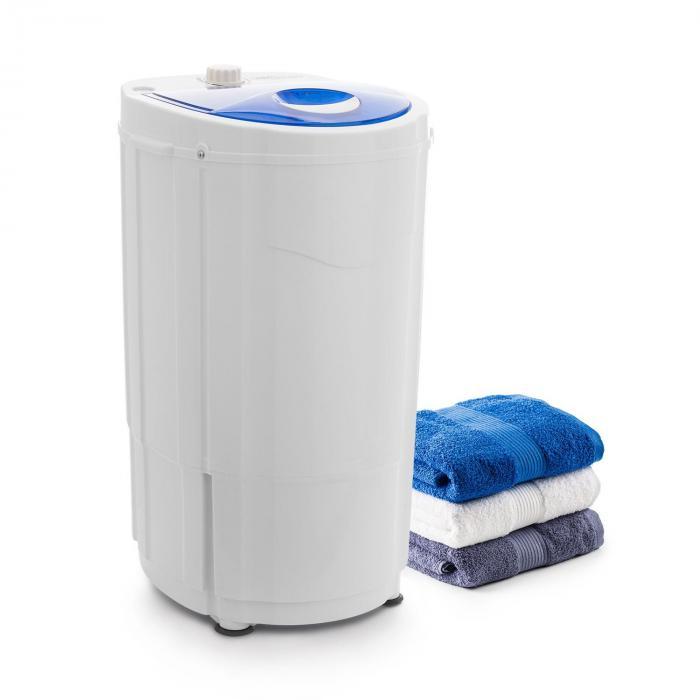 OneConcept Top Spin Compact Wirówka 45 W 1,5 kg timer kolor biały/niebieski