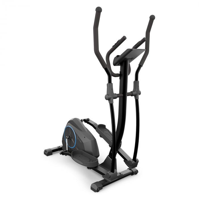 Capital Sports Epsylon Cross AS Orbitrek, 12 kg masy zamachowej, napęd paskowy kolor czarny