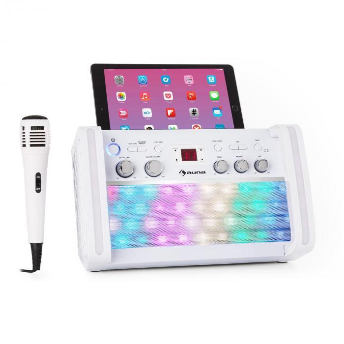 DiscoFever 2.0 Karaokeanlage, BT, multicolor Di...