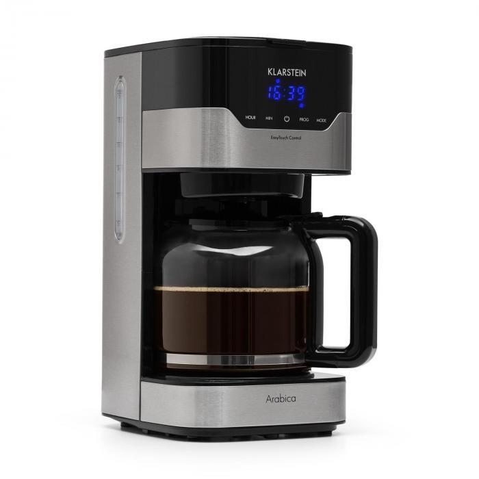 kahvinkeitin Arabica 900 W EasyTouch-ohjaus hopea/musta