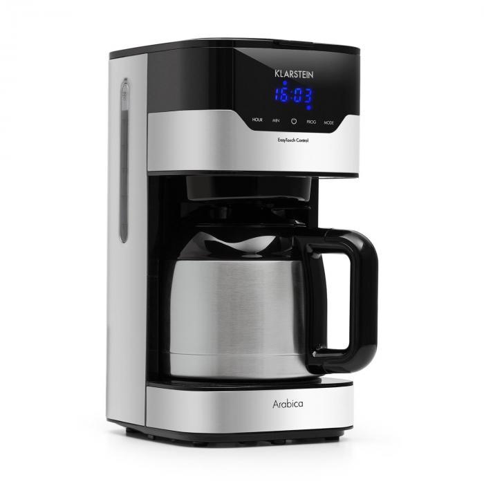 Klarstein Arabica ekspres do kawy 800W EasyTouch Control srebrno/czarny