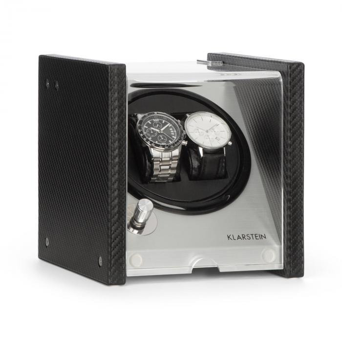 Klarstein Tokyo 2 Rotomat, 2 zegarki, 3 prędkości, 4 tryby, kolor czarny