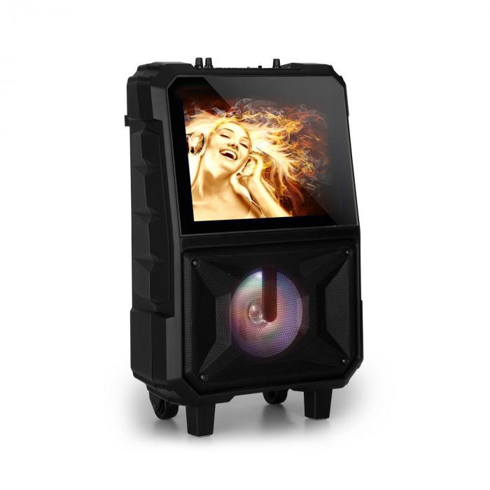 """CenterStage 8 Mobile Karaoke Speaker, 40 W, 14.1"""" Display, Wireless Mic"""