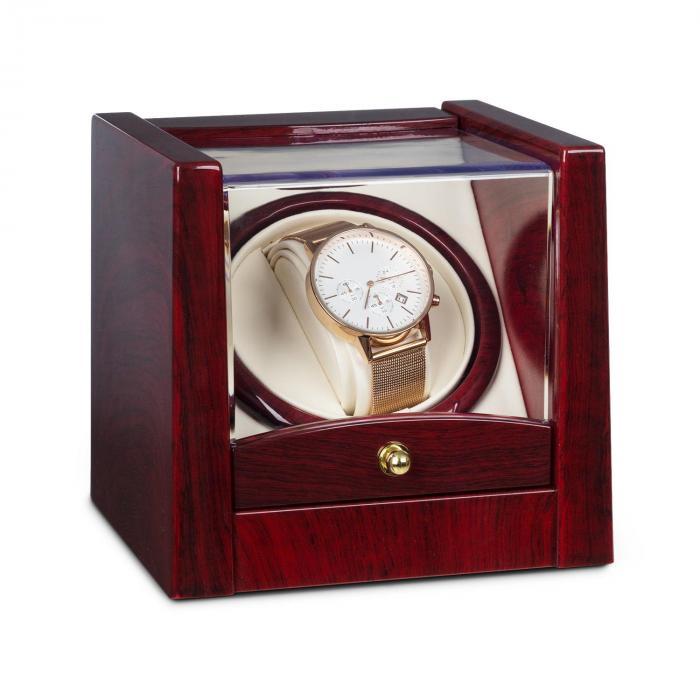 Klarstein Cannes Rotomat na 1 zegarek obrót w lewo/w prawo 2160 TPD imitacja drewna różanego