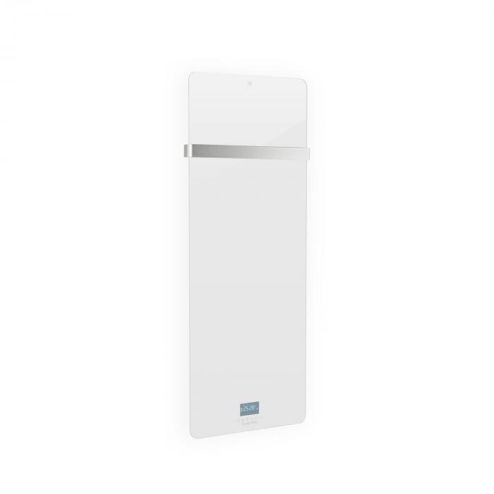 Klarstein Hot Spot Crystal IR Panel grzewczy na podczerwień 45 x 120 cm 20 m² 850 W 5–40°C LED IP24 kolor biały