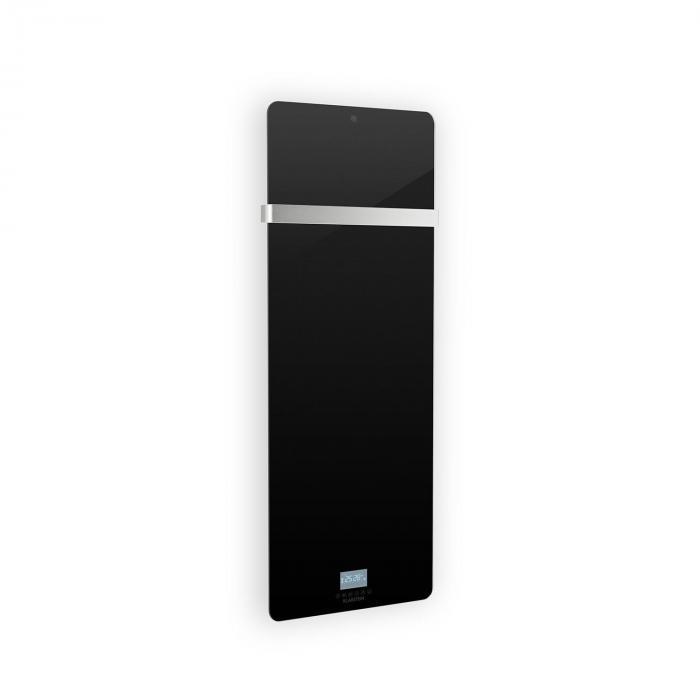 Klarstein Hot Spot Crystal IR Panel grzewczy na podczerwień 45 x 120 cm 20 m² 850 W 5–40°C  IP24 kolor czarny