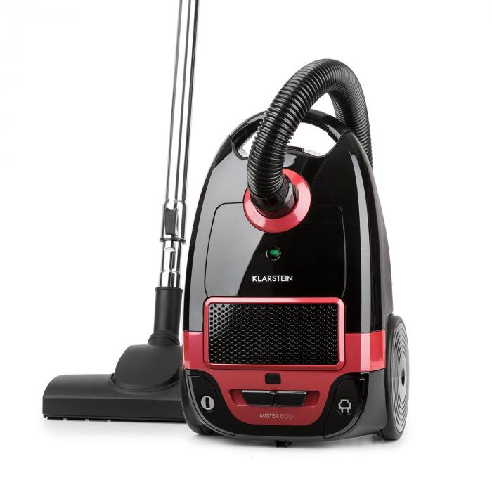 Mister Eco Vacuum Cleaner 450W HEPA13 EEC-A ++ Black / Red