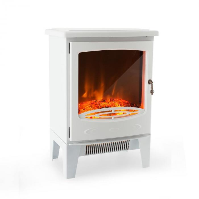meran chemin e lectrique 950w 1850 w instafire thermostat blanche blanc electronic star fr. Black Bedroom Furniture Sets. Home Design Ideas