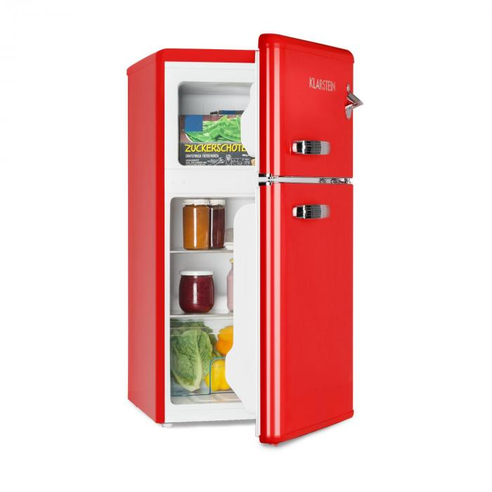Klarstein Irene Fridge Freezer Combination 61 L Fridge 24