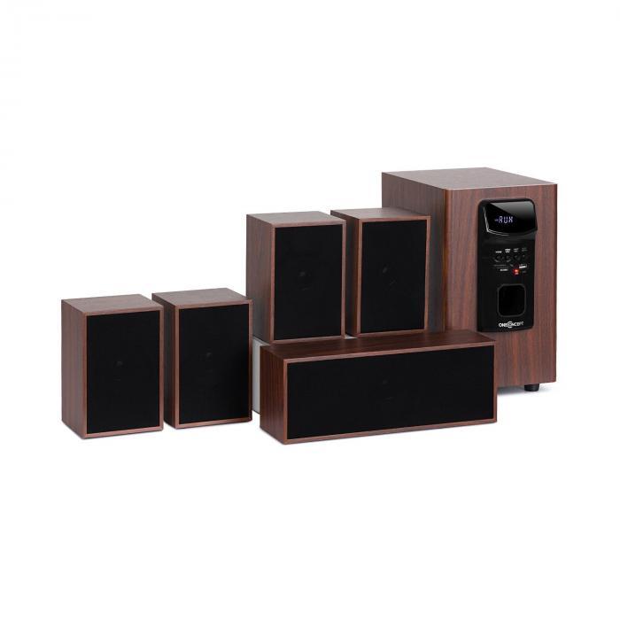 collegare 5,1 audio surround