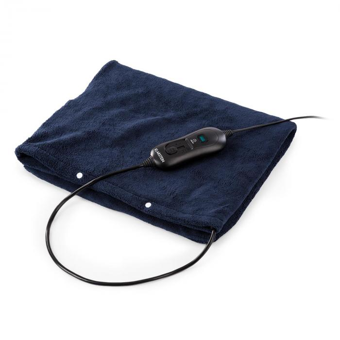 Klarstein Dr. Watson Heatzone L podkładka poduszka elektryczna 100W 65x40cm mikroplusz ciemnoniebieska