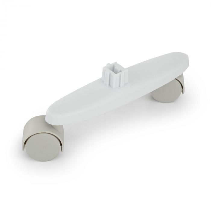 Hot Spot Slimcurve Floor Rollers Replacement 2-pc White