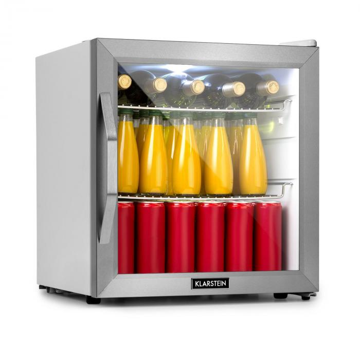 Beersafe L Crystal White frigorifero A+ LED 2 Griglie in Metallo Porta in Vetro Bianco