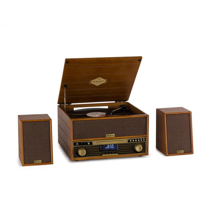 Belle Epoque 1910 -retrostereosoitin levysoitin CD-soitin kaiutin