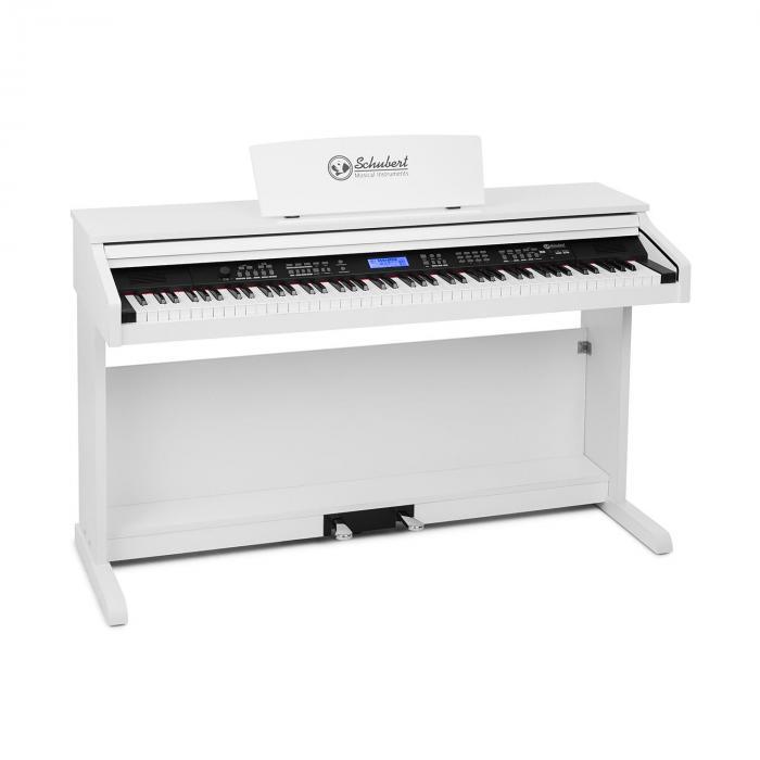 Subi 88 MK II Keyboard 88 Tasti  MIDI USB 360 Suoni 160 Ritmi Bianco