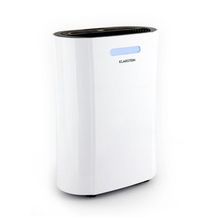 Klarstein AeroDry 10 osuszacz powietrza 265W 10l/d 135m³/h 25m² DrySelect 37 dB biały