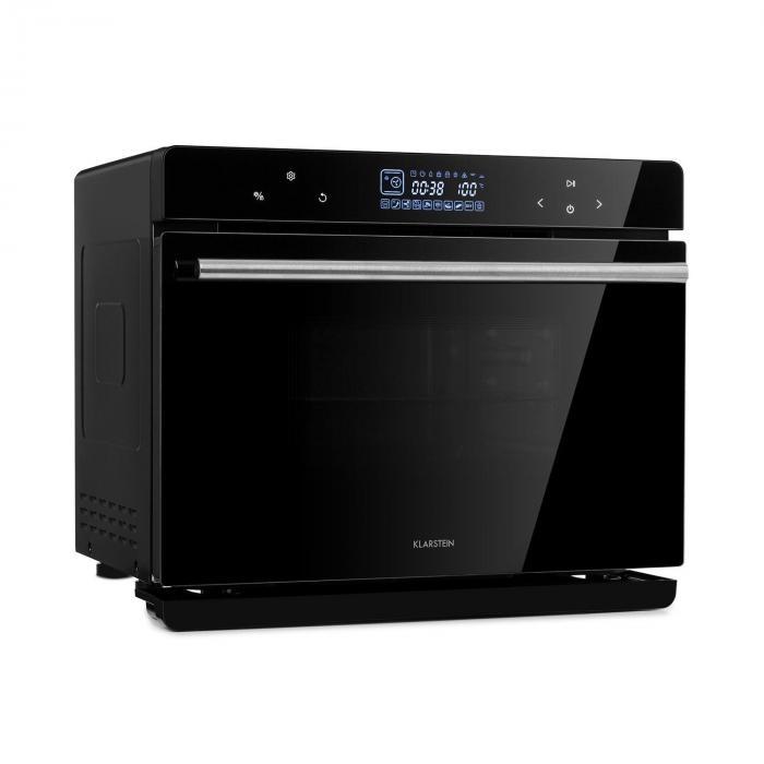 Klarstein MasterFresh piekarnik parowy 230°C 24l dotykowy panel obsługi czarny