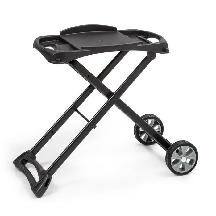 Parforce Stand Zubehör PE-Räder zusammenklappbar schwarz