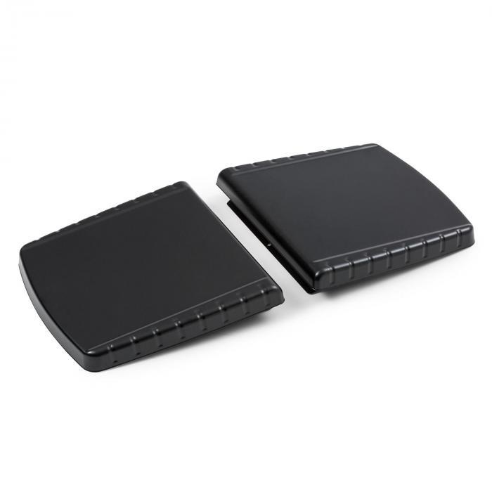 Parforce Seitenteile Zubehör große Ablageflächen schwarz