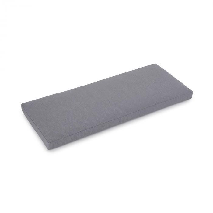 Pozzilli CU imbottitura panca da giardino ComfortExtra idrorepellente grigio