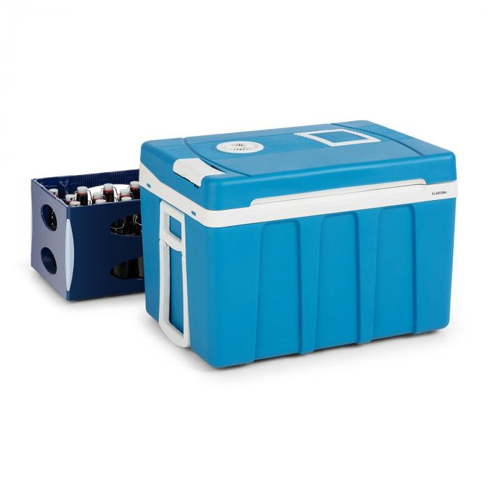 Klarstein BeerPacker lodówka turystyczna chłodzenie/grzanie 50 l A+++ AC/DC trolley niebieska