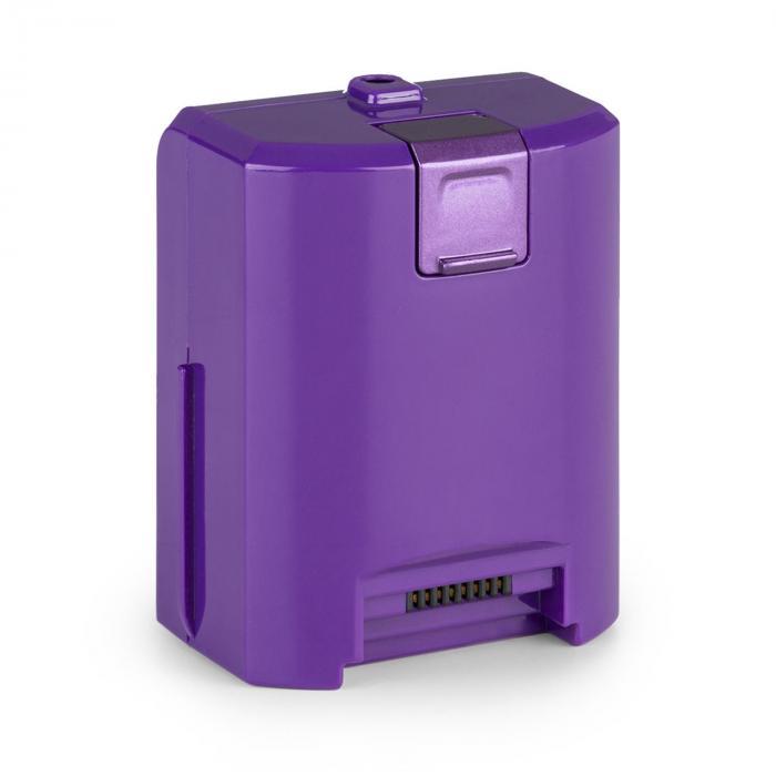 cleanFree Akkustaubsauger Lithium-Ionen-Akku 22,2 V/2200 mA/h violett