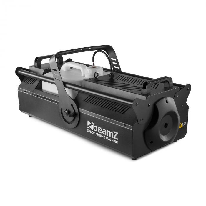 Beamz S3500 maszyna do wytwarzania mgły 3500W DMX 1.217 m³/min. 10 l zbiornik