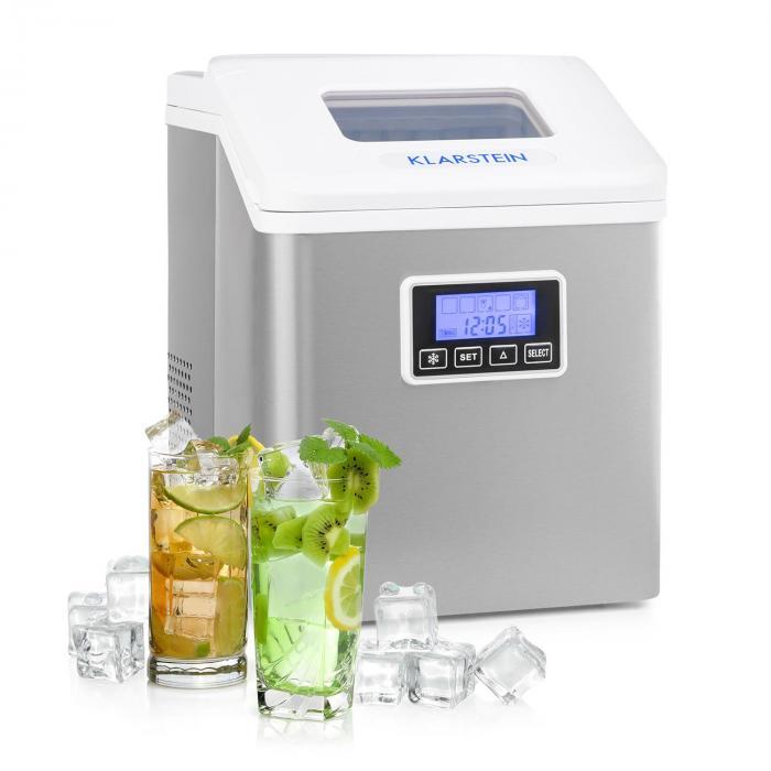 Clearcube LCD jääpalakone Klareis 15-20kg/24h valkoinen
