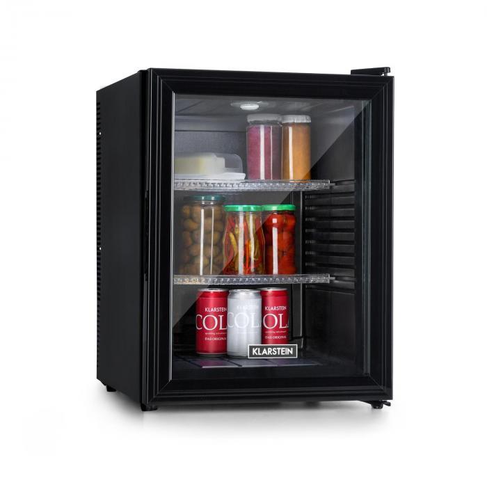 Brooklyn 42 -jääkaappi energialuokka A lasiovi musta sisätila musta