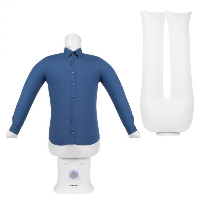 Klarstein ShirtButler Deluxe, urządzenie do automatycznego suszenia i prasowania, 1250 W