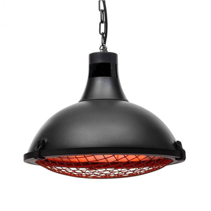Blumfeldt Blackpool Heat , grzejnik tarasowy, IR ComfortHeat, IP54, 2100 W, czarny