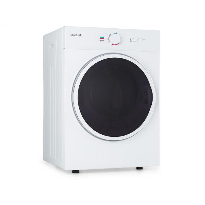 Klarstein Jet Set, suszarka do ubrań, suszarka, 1020 W, klasa energetyczna C, 3 kg, 50 cm, biała
