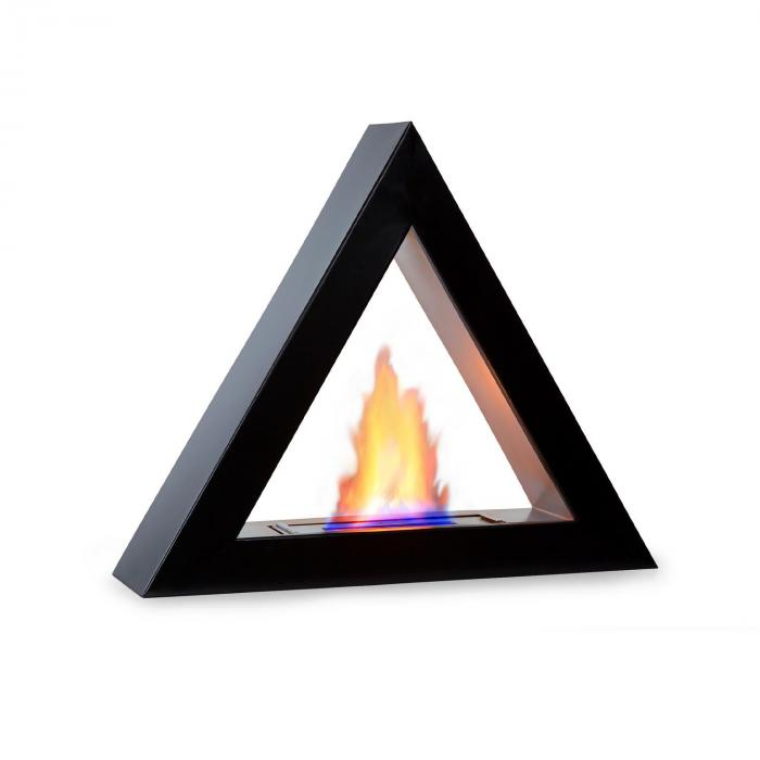 Klarstein Phantasma Gizeh, kominek na etanol, palnik ze stali szlachetnej, 600 ml, nie dymi