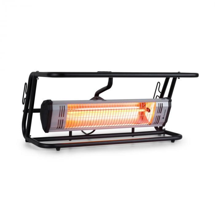 Team Mate Radiant Heater 1500W IR Comfort Heat IP34 Steel