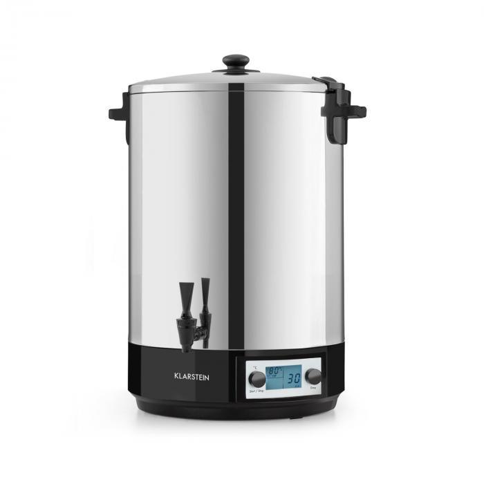 KonfiStar 40 Digital keittoautomaatti juoma-annostelija 40l 2500 W 100°C 180min