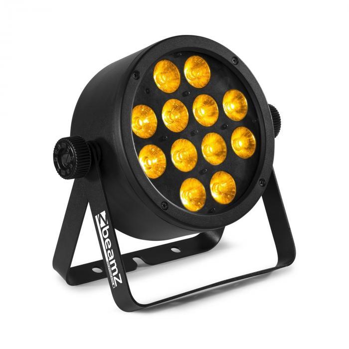 Beamz Professional BAC306, projektor ProPar, 12 diod LED o mocy 12 W 6 w 1, RGBWA-UV, ściemniacz