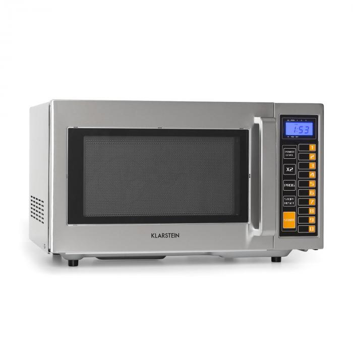 Pro Bestzeit 25 Microwave 1000W 25l Timer 3 Power Levels Stainless Steel