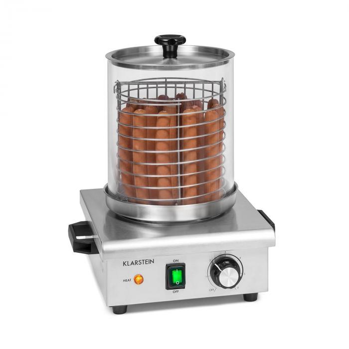 Klarstein Wurstfabrik 450, urządzenie do hot-dogów, 5 l, 30–100°C, szkło, stal szlachetna, 450 W