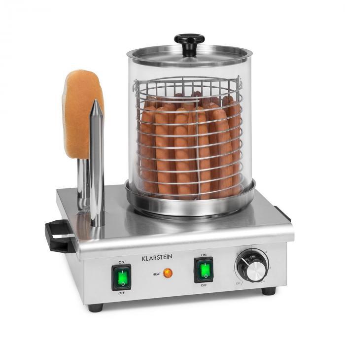 Klarstein Wurstfabrik 550, urządzenie do hot-dogów, 5 l, 30–100°C, szkło, stal szlachetna, 550 W