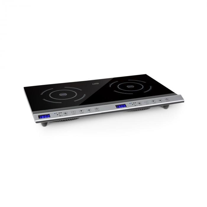 Klarstein Cucinata, kuchenka indukcyjna, 3100 W, 10 poziomów mocy, 200 - 1300 W.