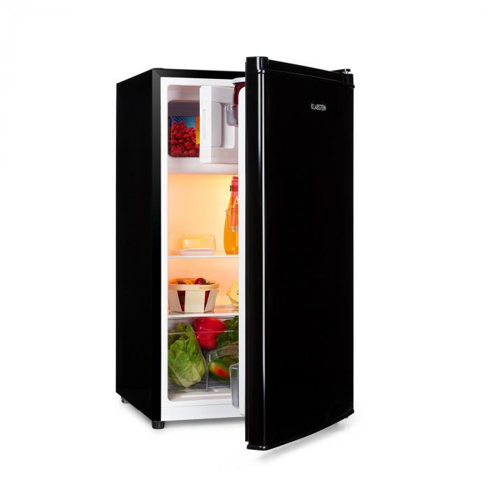 Klarstein Cool Cousin, lodówka z zamrażarką, 69/11 litrów, 41 dB, A ++, kolor czarny