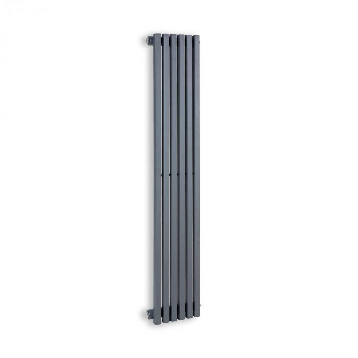 """Delgado 120 x 25 Termosifone 508W Collegamento 1/2"""" 4-10m² grigio"""