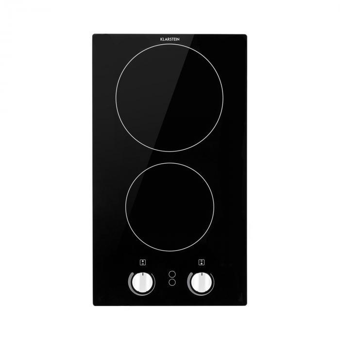 Klarstein EasyCook Domino płyta ceramiczna 300W pokrętła czarna